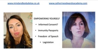 Jaclyn Dunne & Catherine Edwards: Informed Consent, Vaccines, Censorship & Empowering Yourself 1st dec 20
