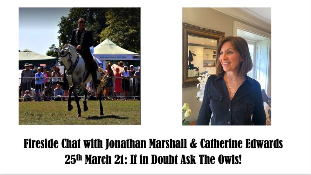 Jonathan Marshall & Catherine Edwards Foreside Chat 25th March 21