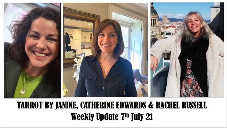 Tarot by Janine, Catherine & Rachel 7th July 21: Lower earth, Diana, What the real world is & more!