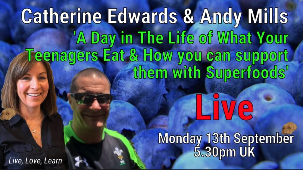 LIVE: A Day In The Life of What Your Teenagers Eat & How You Can Support Them With Superfoods