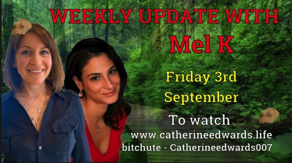 MEL K & CATHERINE EDWARDS 3RD SEPT 21