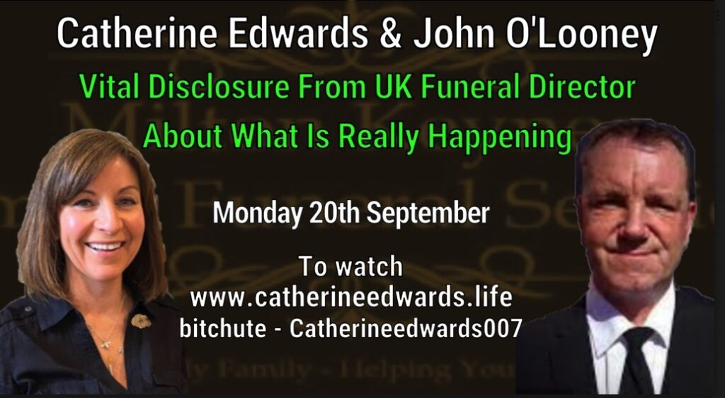 MUST WATCH: UK FUNERAL DIRECTOR EXPOSES WHAT IS REALLY KILLING PEOPLE & VACCINE DEATHS